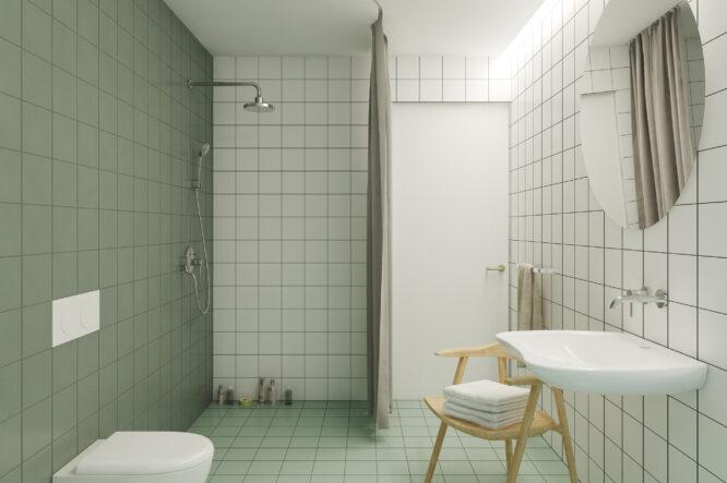 Ertvelde badkamer